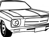 Vintage Antique Drive Coloring Page