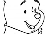 Winnie The Pooh Smile Coloring Page