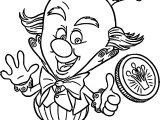 Wreck It Ralph King Candy Medal Coloring Page