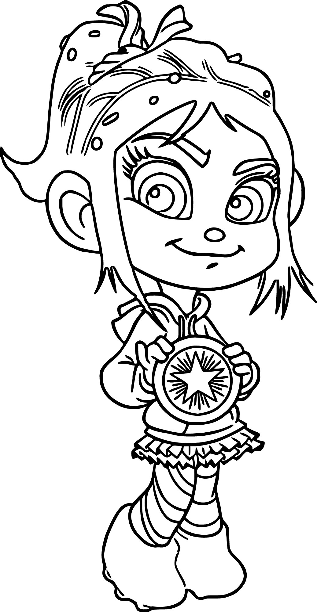 Wreck It Ralph Vanellope Coloring Pages And Various Wreck It Ralph Vanellope Coloring Pages