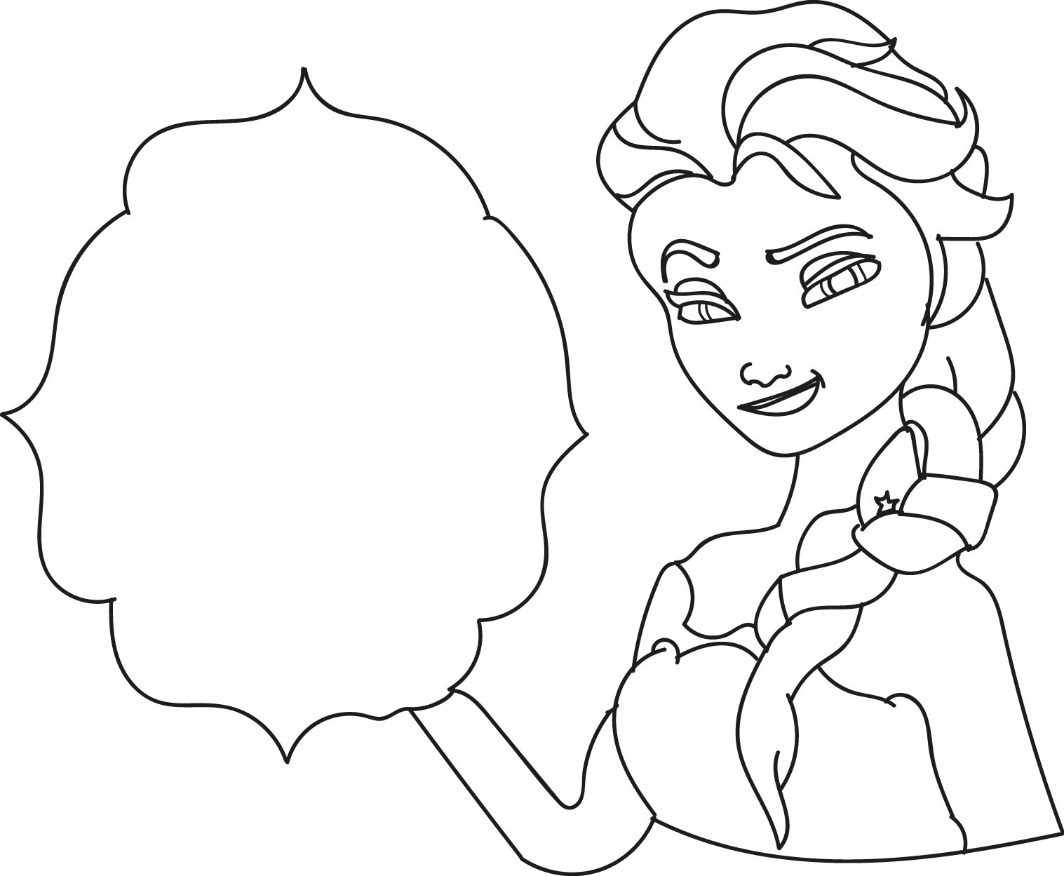 Frozen Neck Coloring Pages Frozen Best Free Coloring Pages