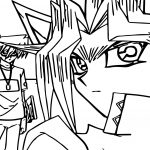 Yu Gi Oh Backside Look Coloring Page