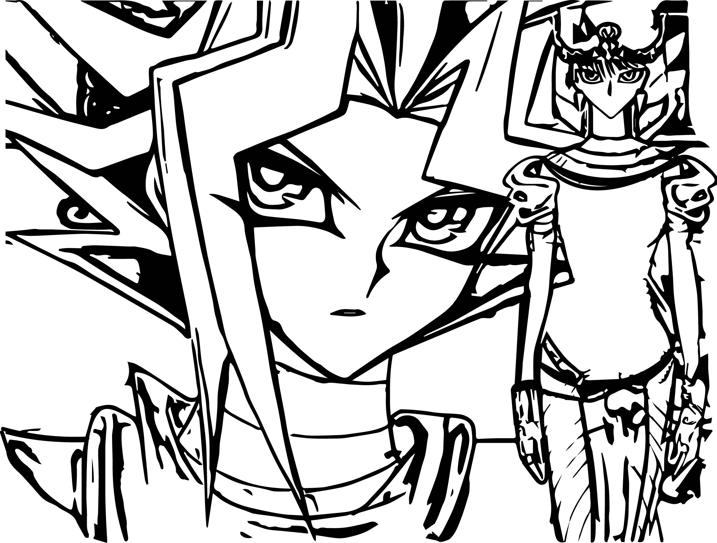 Yu Gi Oh Dreams Coloring Page