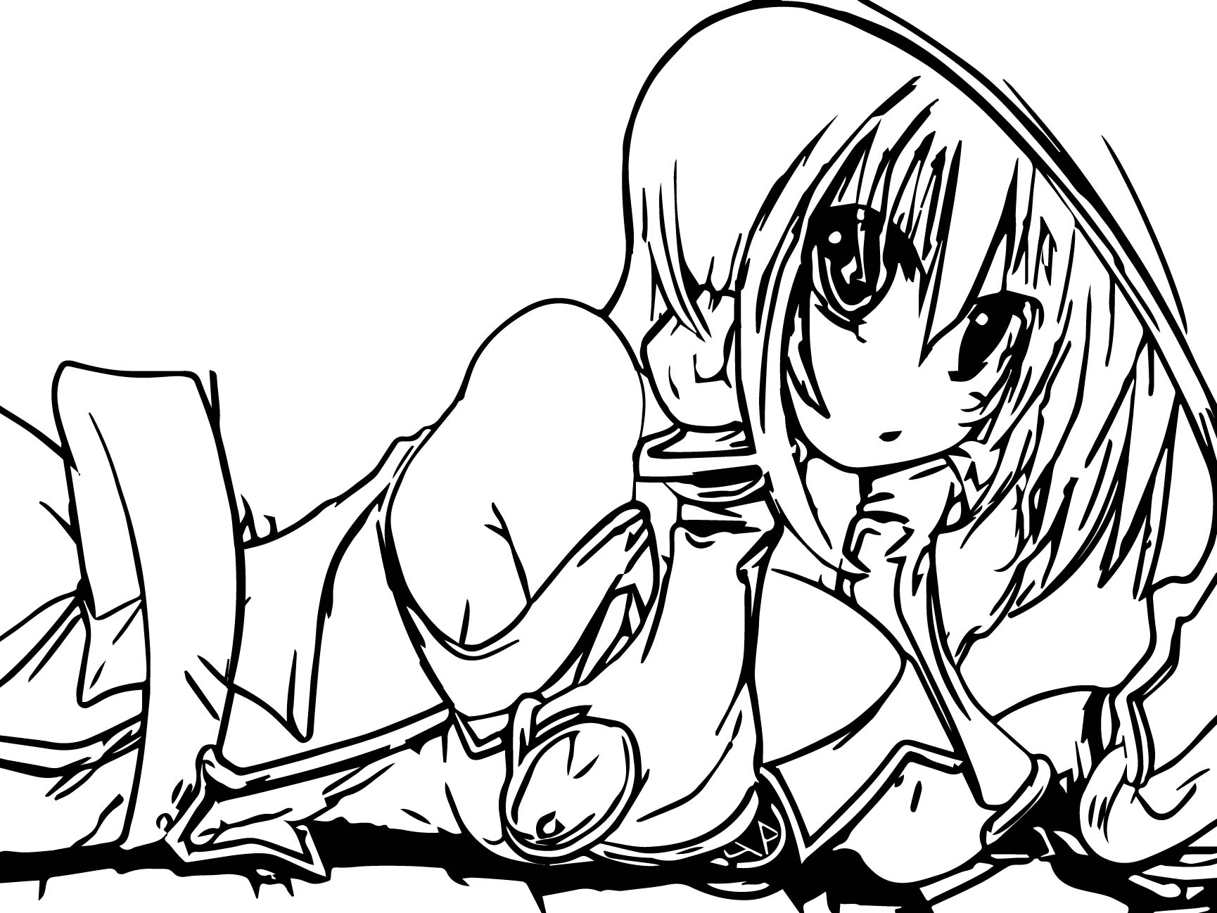 Free coloring pages yugioh - Yu Gi Oh Girl Drawing Coloring Page