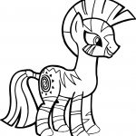 Zecora Smile Coloring Page