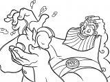 Zeus Pegasus Coloring Pages
