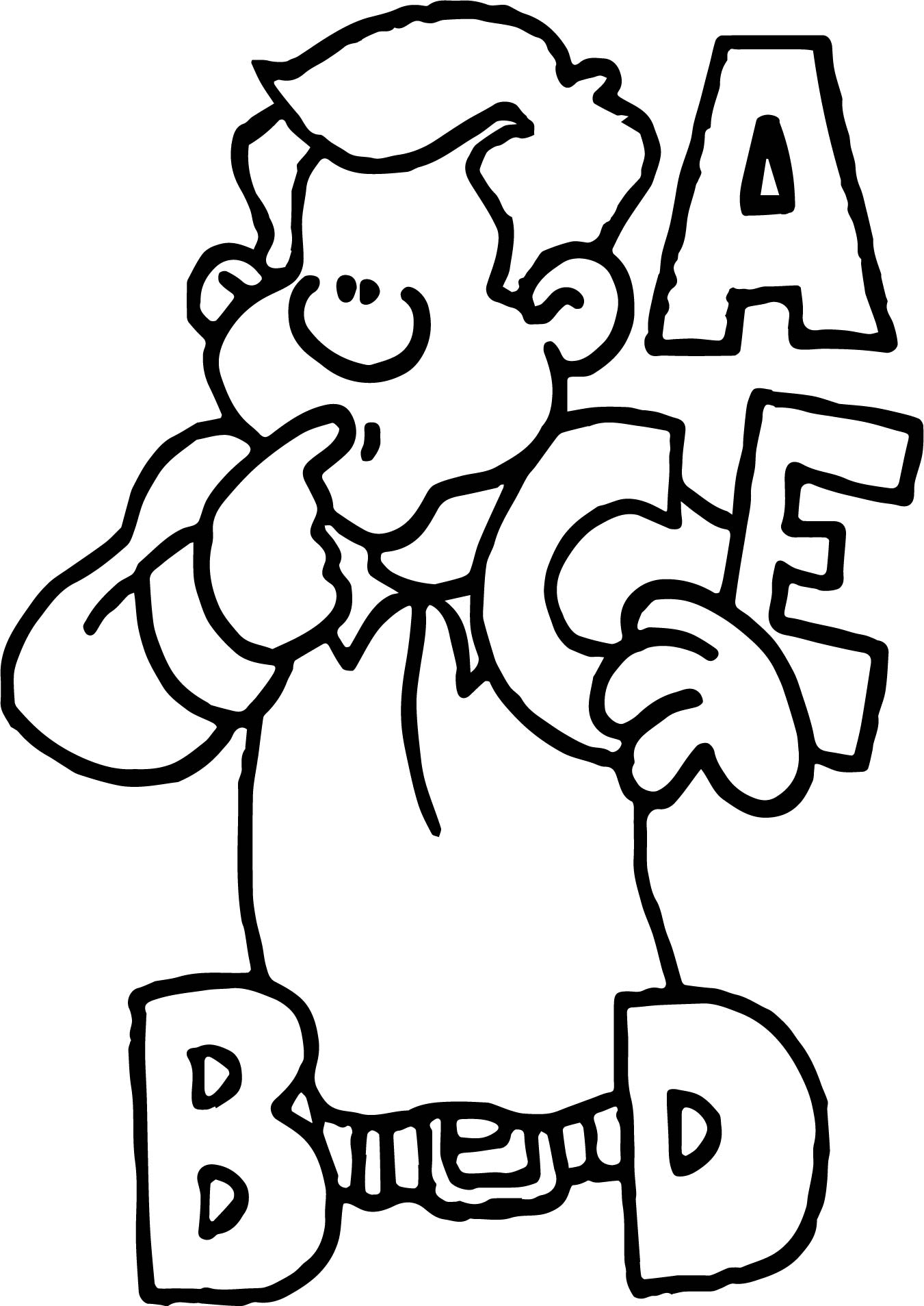 English Alphabet Coloring Pages : English coloring pages letters classic