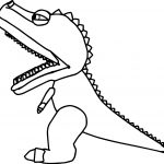 Baby Dinosaur Toy Coloring Page