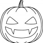 Bat Halloween Pumpkin Coloring Page