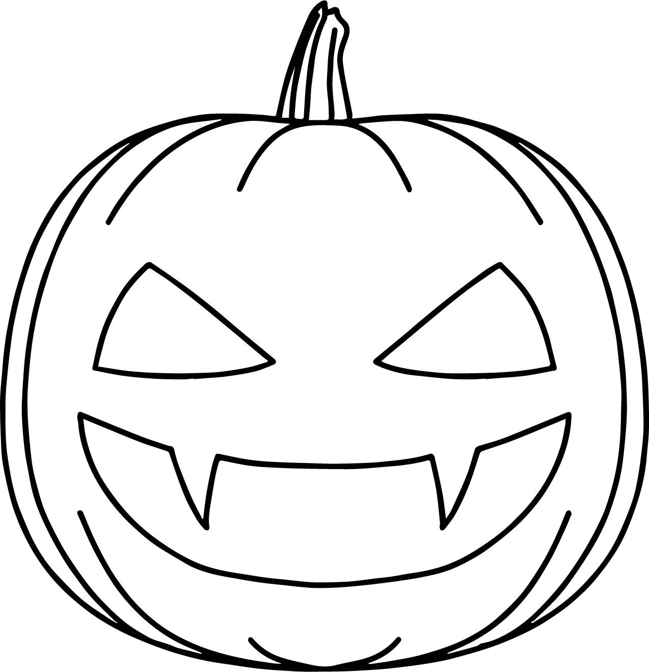 bat halloween pumpkin coloring page - Halloween Pumpkins Coloring Pages