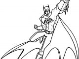 Batman Unlimited Coloring Page
