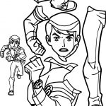BenTen Alien Force Giant Part Coloring Page