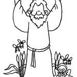 Bible Plagues Cartoons Coloring Page