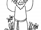 Bible Plagues Cartoons Coloring Page