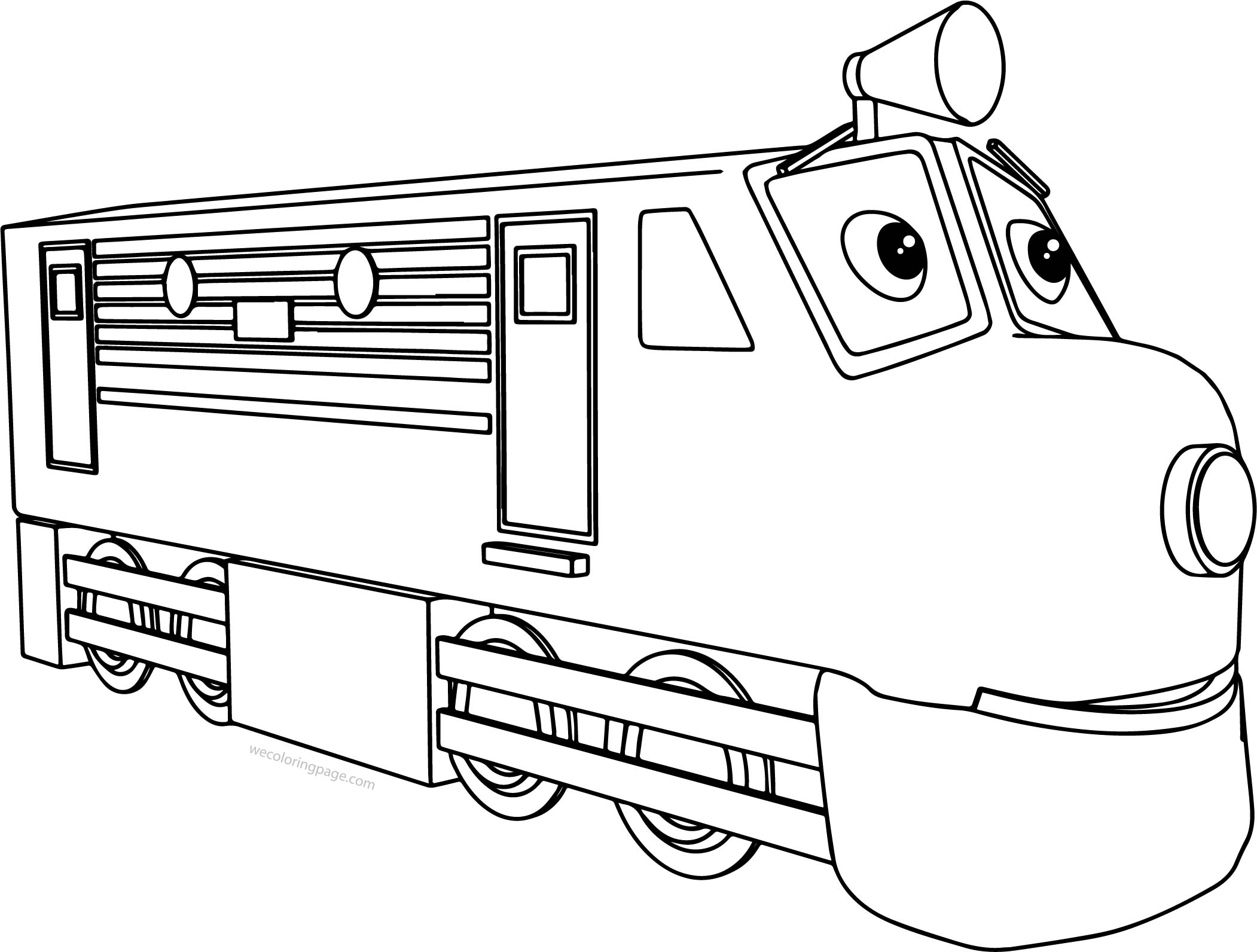 Big Chuggington Coloring Page