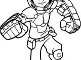 Big Hero 6 Characters Hiro Coloring Page