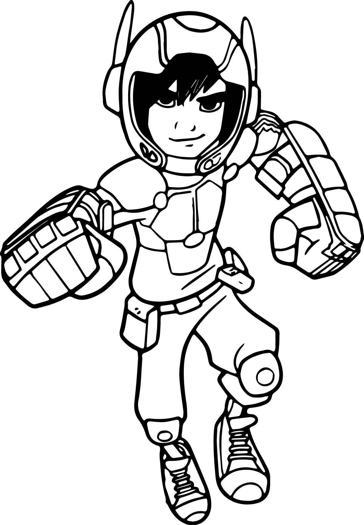 big hero 6 coloring pages hiro - photo #11