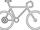 Bike Biycle Coloring Page