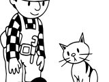Bob The Builder Cat Food Coloring Page