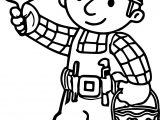 Bob The Builder Lets Paint Coloring Page