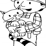 Bob The Builder Love Cat Coloring Page