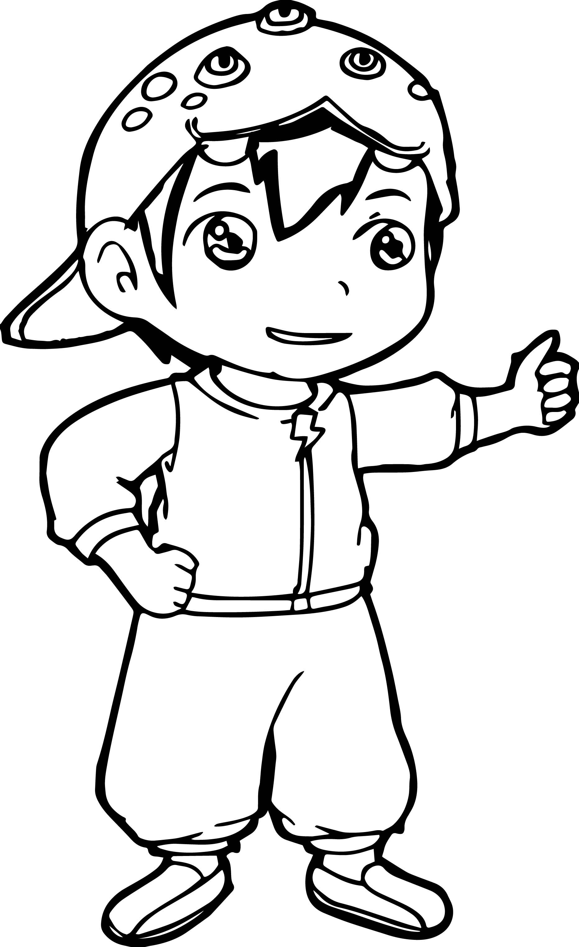 Coloring Pages Boboiboy