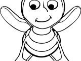 Bumble Bee Children Coloring Page