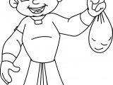 Chhota Bheem Gold Coloring Pages