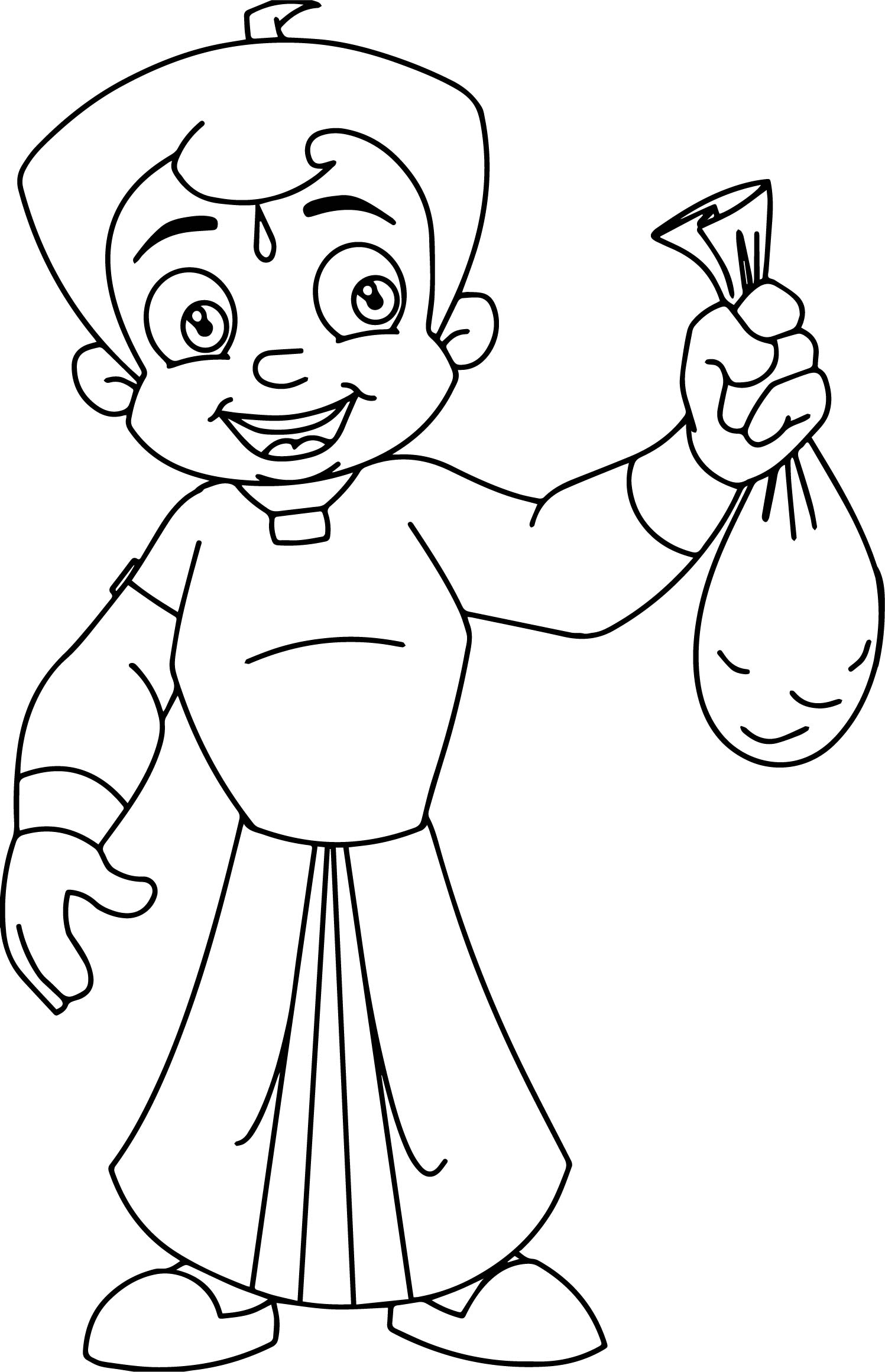 Coloring Pages Chota Bheem Coloring Pages chhota bheem gold coloring pages wecoloringpage pages