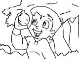 Chhota Bheem Orange Coloring Page