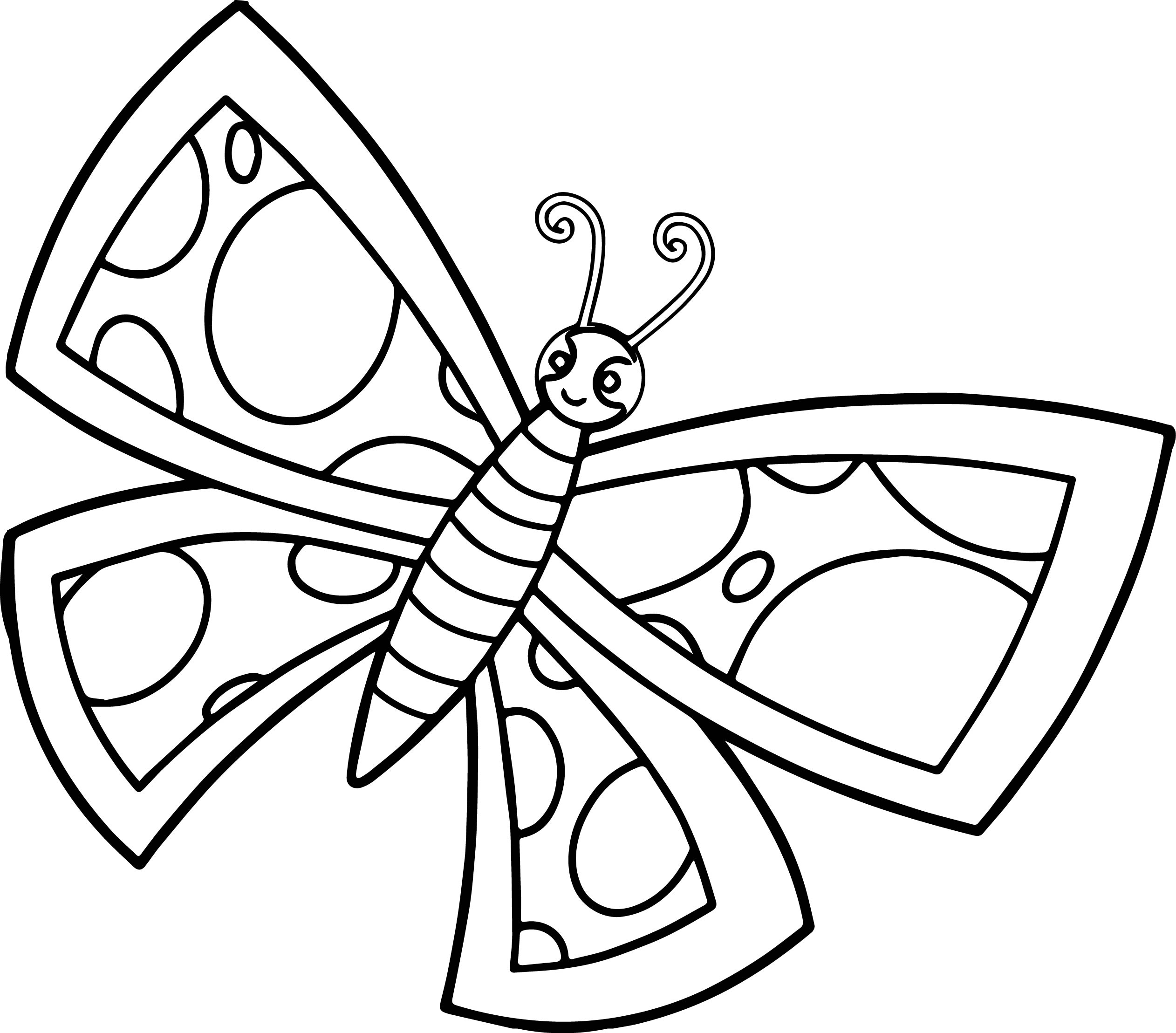 100 ideas Cute Butterfly Coloring Pages on gerardduchemann