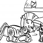 Diamond And Dazzle Zecora Cat Coloring Page