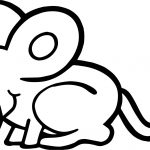 Dirty Mouse Coloring Page