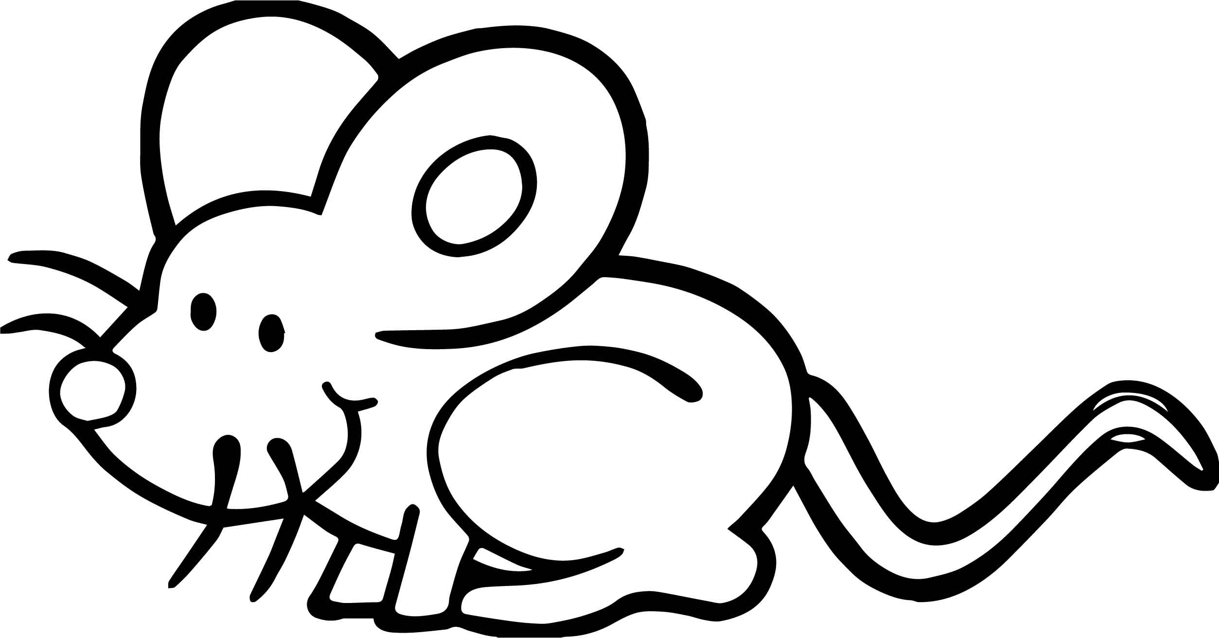 Dirty mouse coloring page for Rat coloring pages