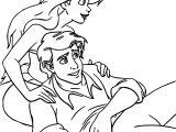 Disney The Little Mermaid Return to the Sea Boyfriend Coloring Page