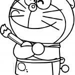 Doraemon Painter Coloring Page