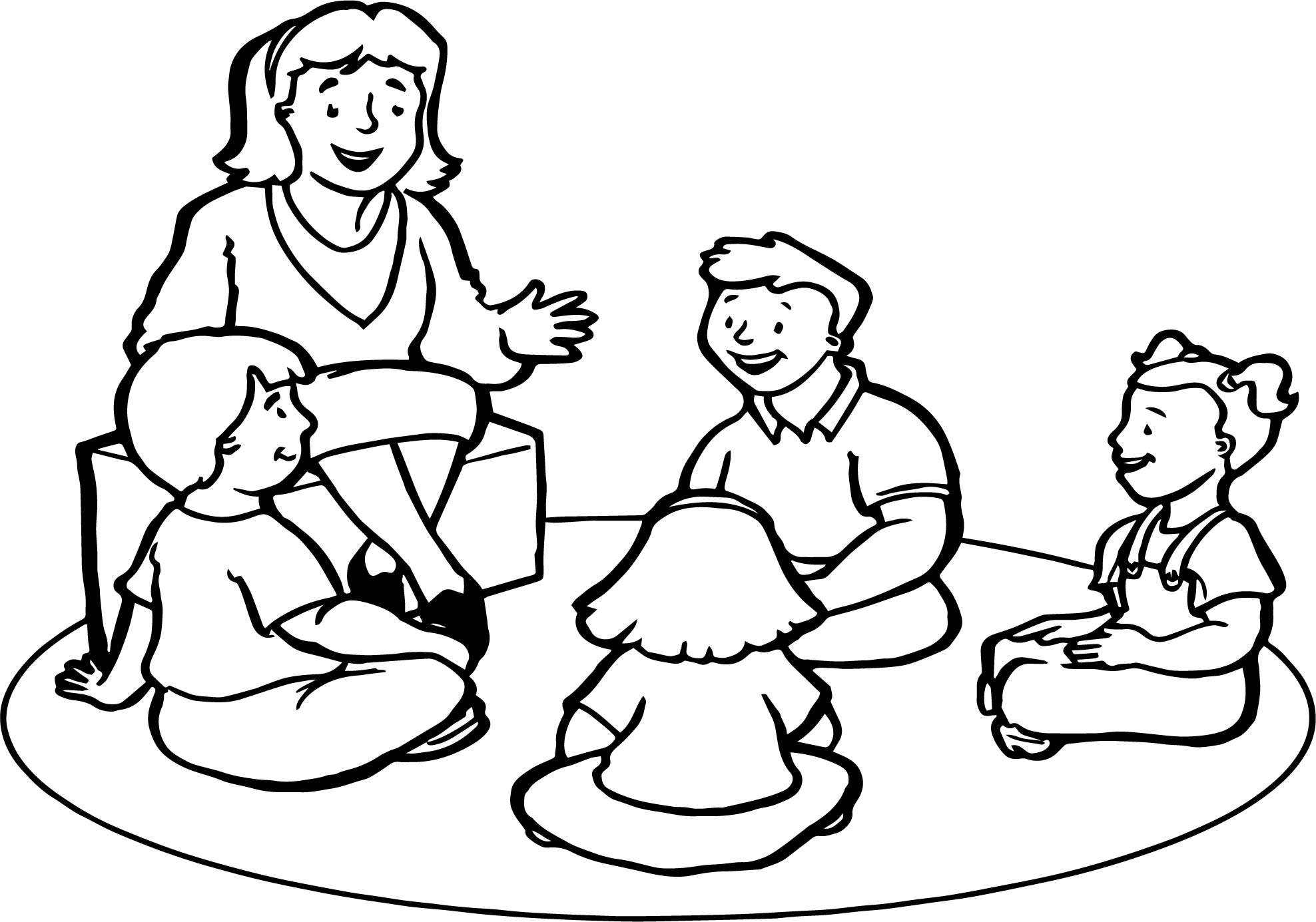 coloring pages of teachers english teacher childrens coloring page