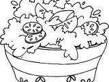 Ensalada Coloring Page