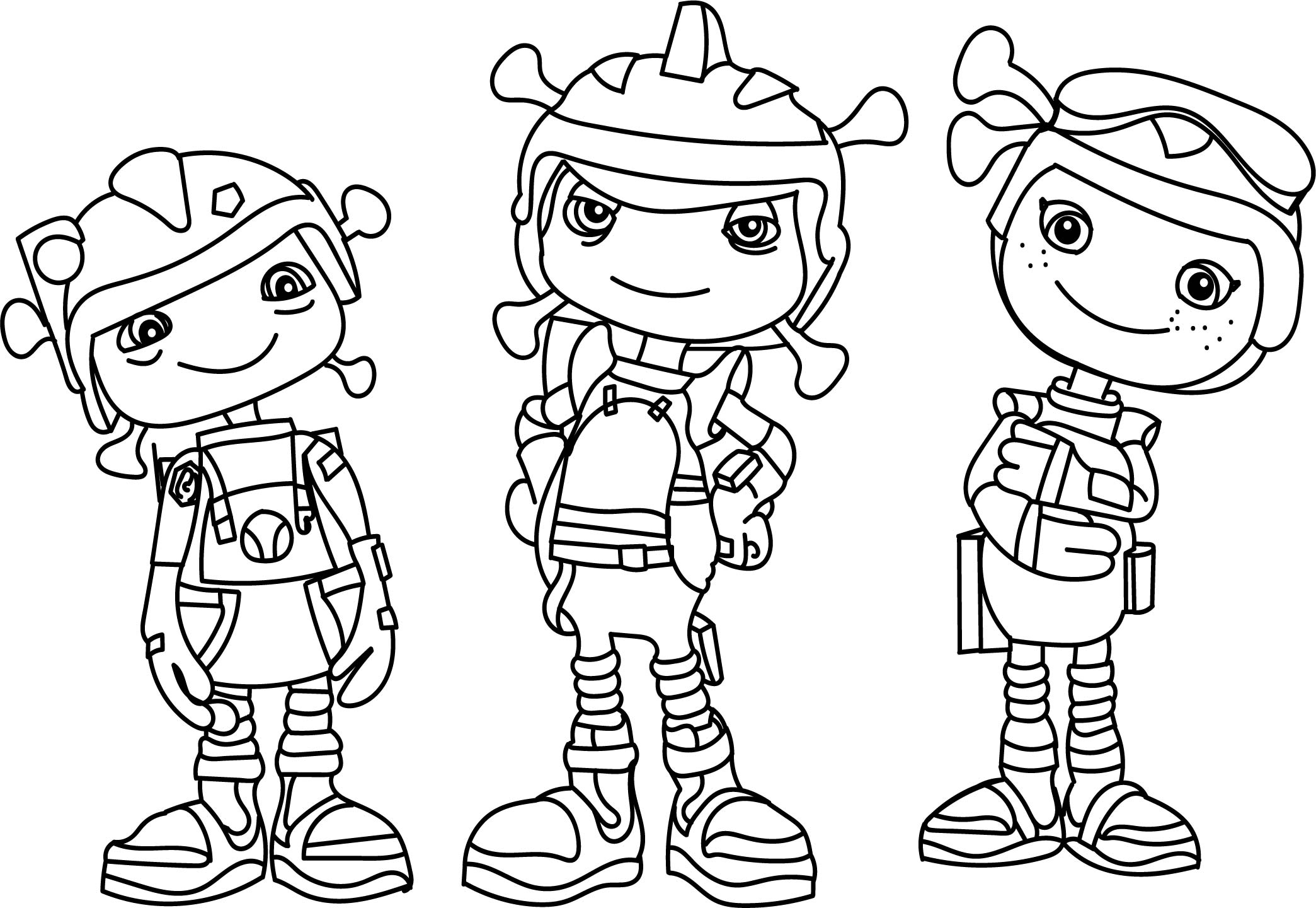 Floogals Zachary Coloring Page Wecoloringpage Colouring In Pages