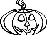 Free Halloween Pumpkin Coloring Page