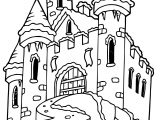 Frozen Castle Coloring Page