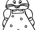 Girl Max And Ruby Coloring Page