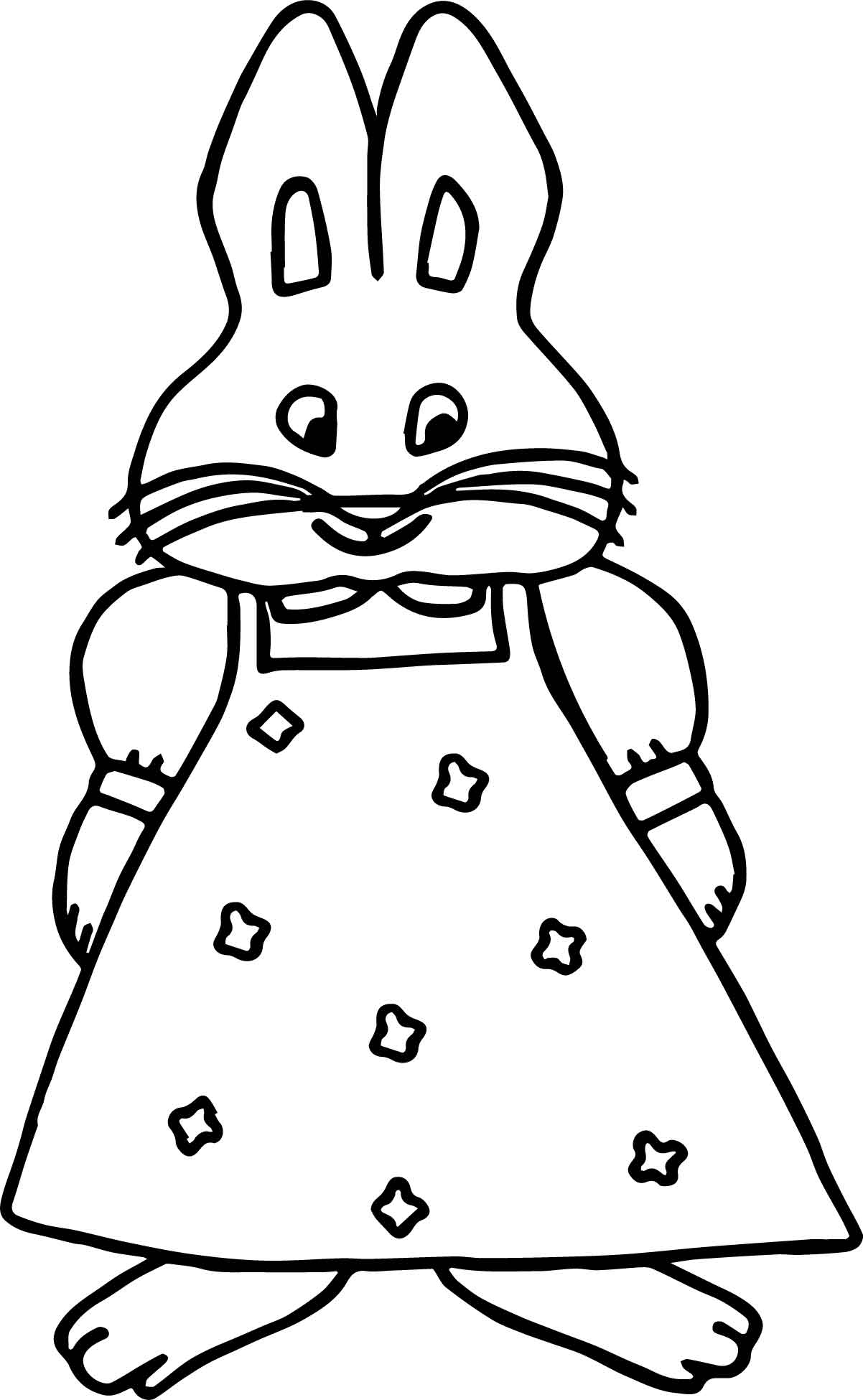 Girl Max And Ruby Coloring Page Wecoloringpage
