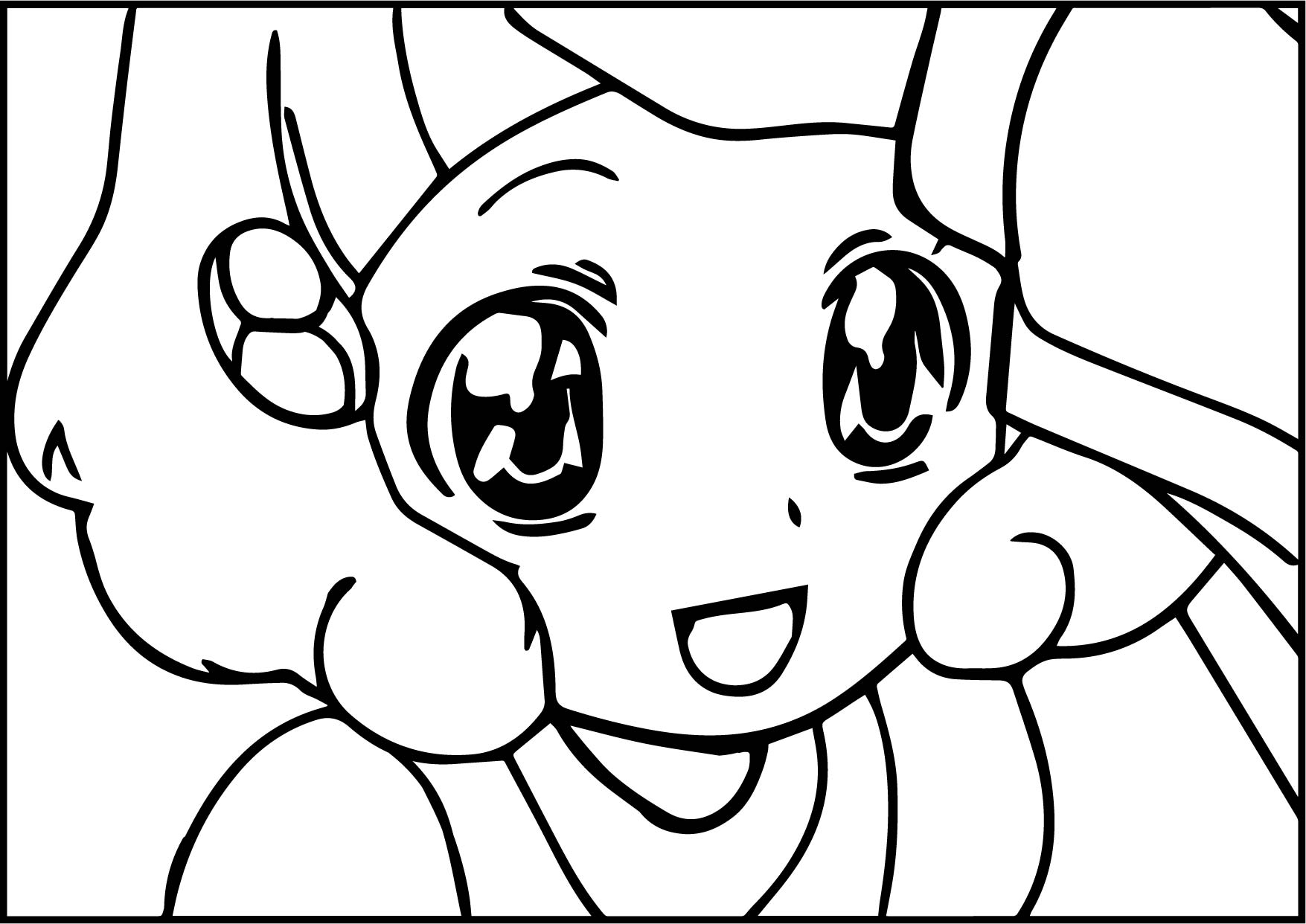 Glitter Force Girl Kids Coloring Page