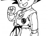 Goku Kids Coloring Page