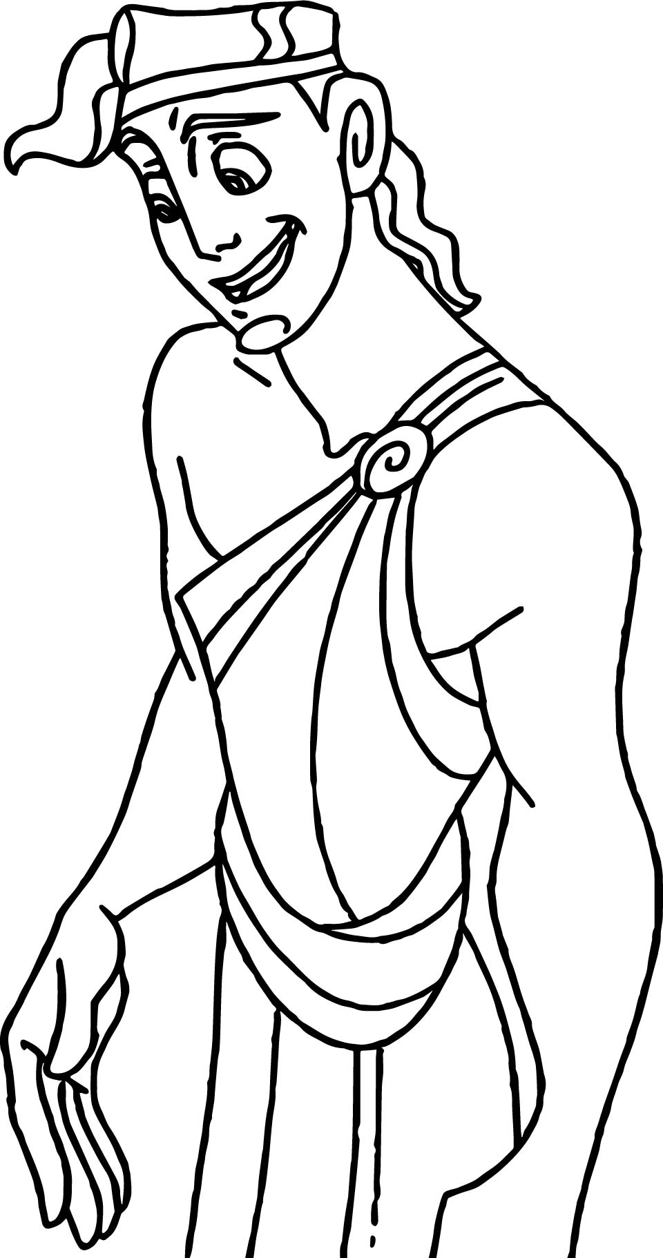 Hercules Pan Coloring Pages Wecoloringpage
