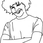 High School Musical Characters Chad Danforth Coloring Pages