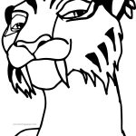 Ice Age Shira Coloring Page