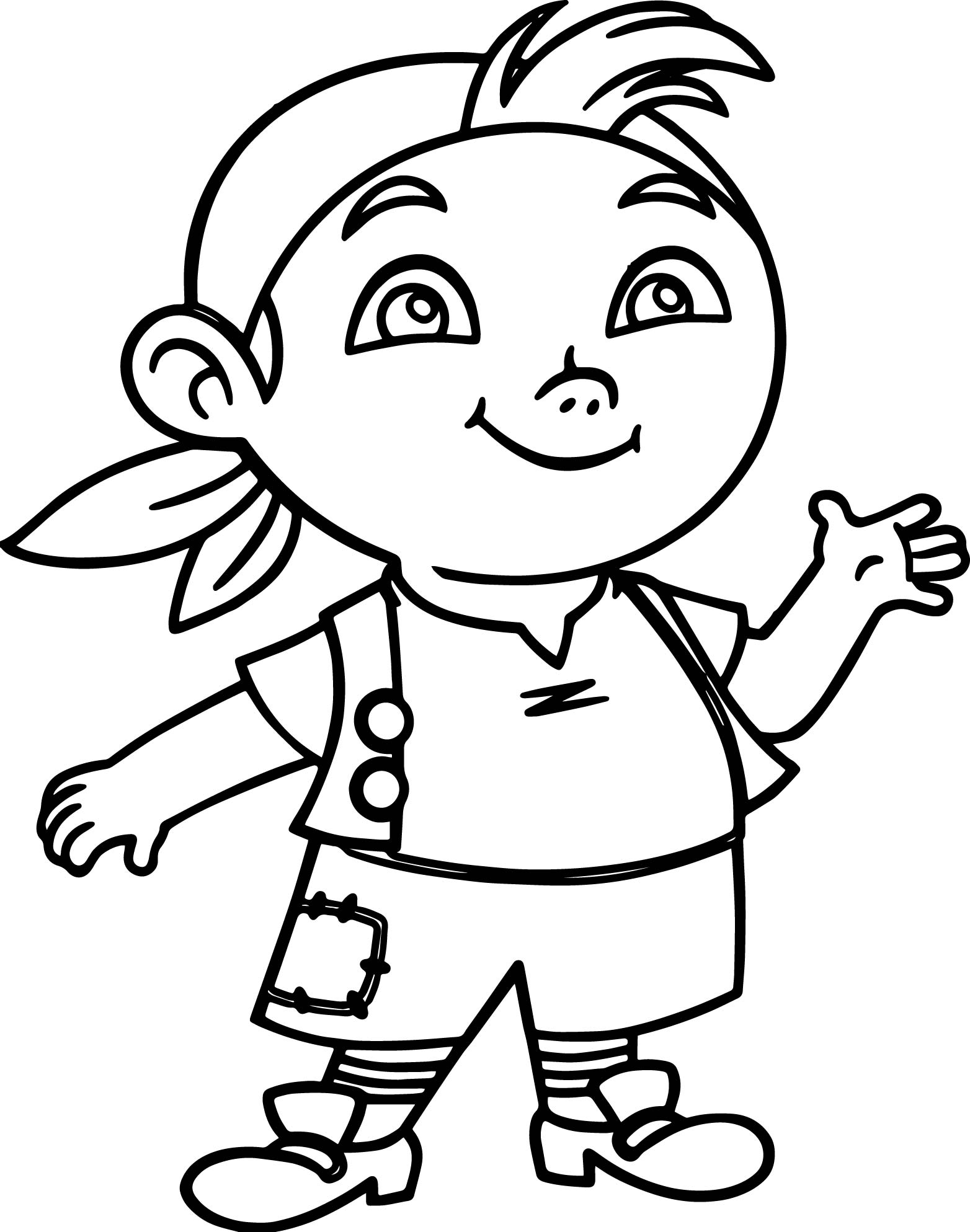 Jake and the never land pirates coloring page for Jake the pirate coloring pages