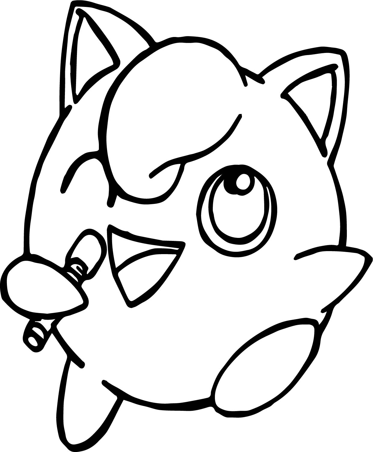Jigglypuff Song Coloring Page